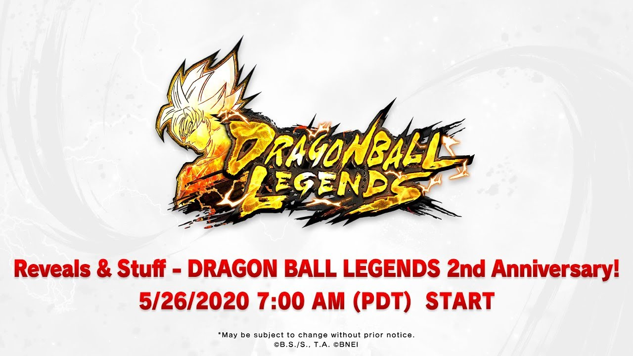 Reveals &Stuff – DRAGON BALL LEGENDS 2nd Anniversary