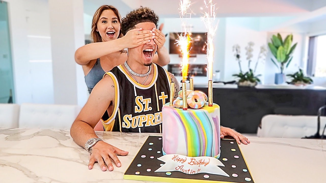 SURPRISING AUSTIN FOR HIS 28TH BIRTHDAY… **EMOTIONAL**