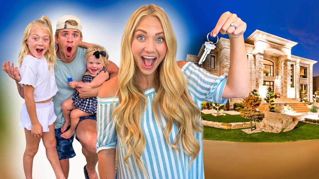 THE LABRANT FAMILY'S NEW HOUSE TOUR!!!