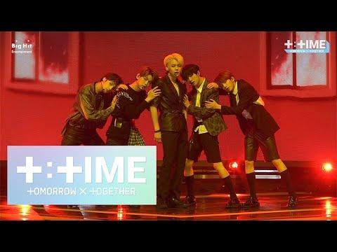 [T:TIME] '세계가 불타버린 밤, 우린… (Can't You See Me?)' stage @Media Showcase #TTCAM – TXT (투모로우바이투게더)