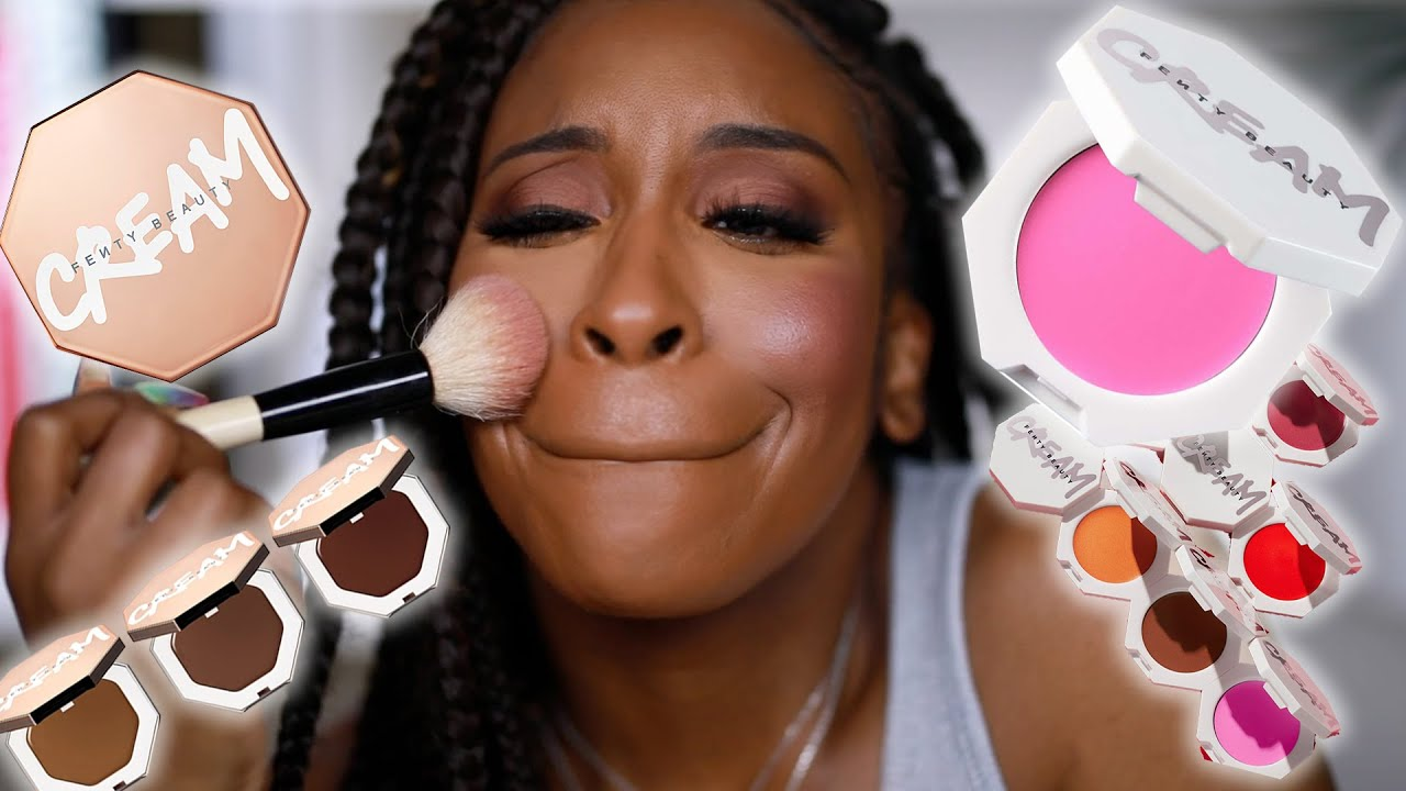 The Most Chaotic Review EVER; Fenty Cream Bronzer/Blush Collection