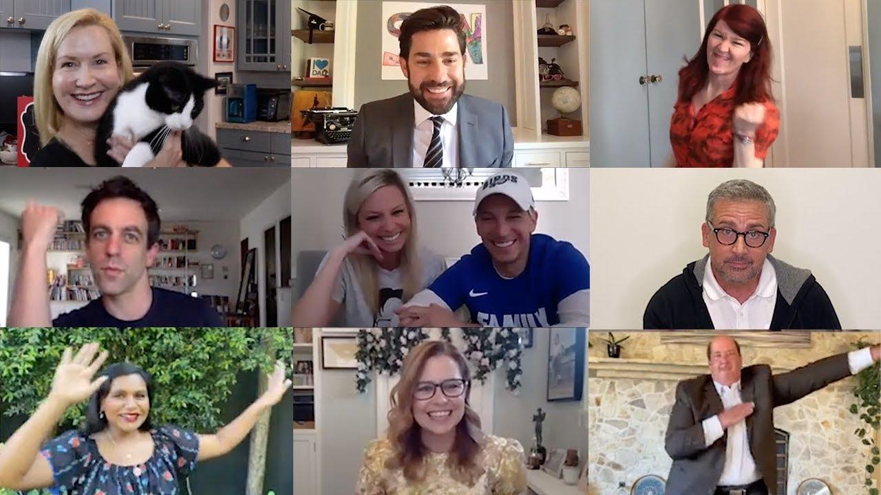 The Office Cast Reunites for Zoom Wedding: Some Good News with John Krasinski Ep. 7