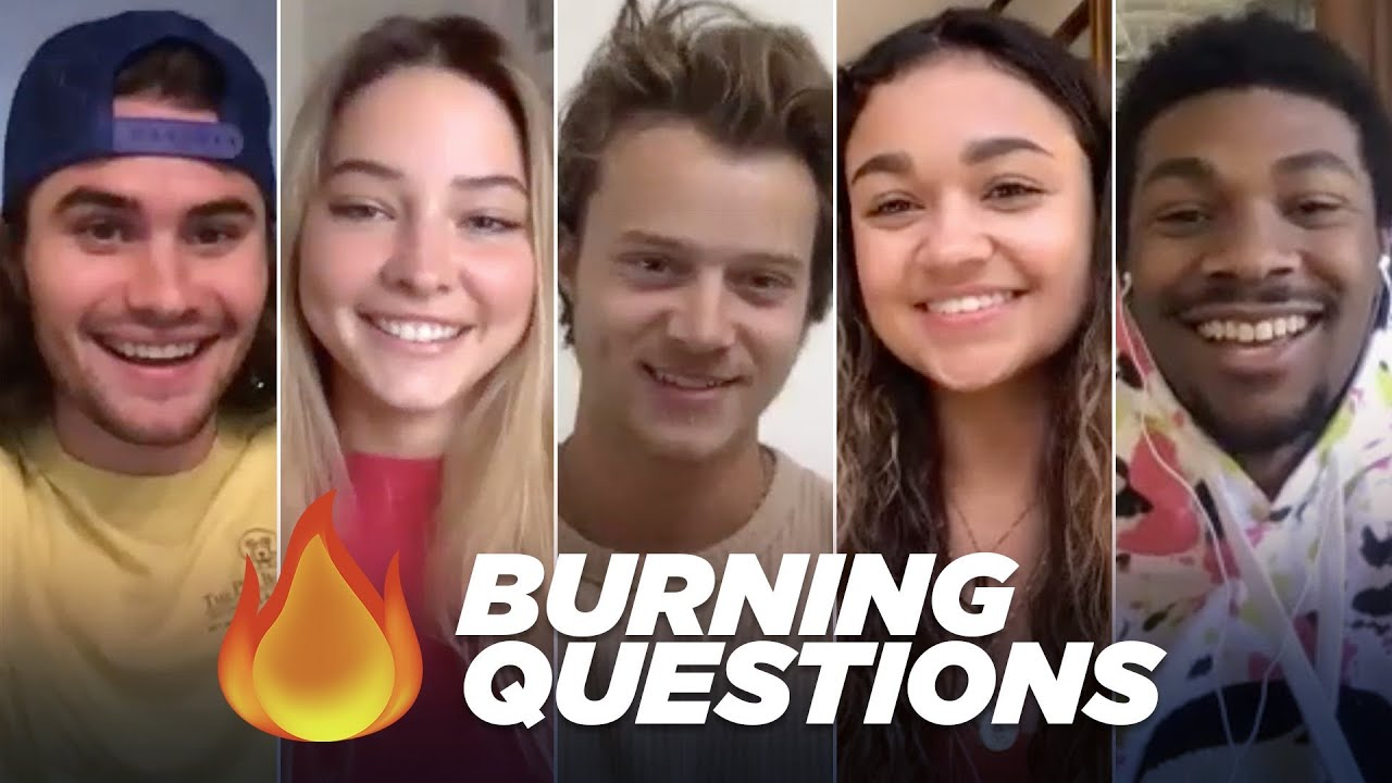 "The ""Outer Banks"" Cast Answers Your Burning Questions"
