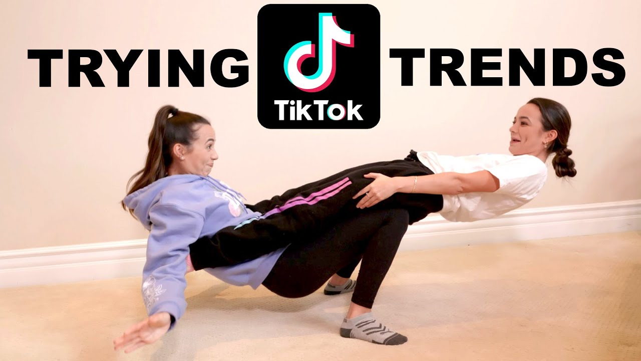 Trying Popular Tik Tok Trends – Merrell Twins