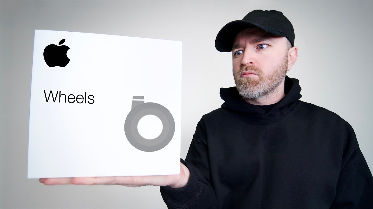 Unboxing Apple's 700 Dollar Wheels
