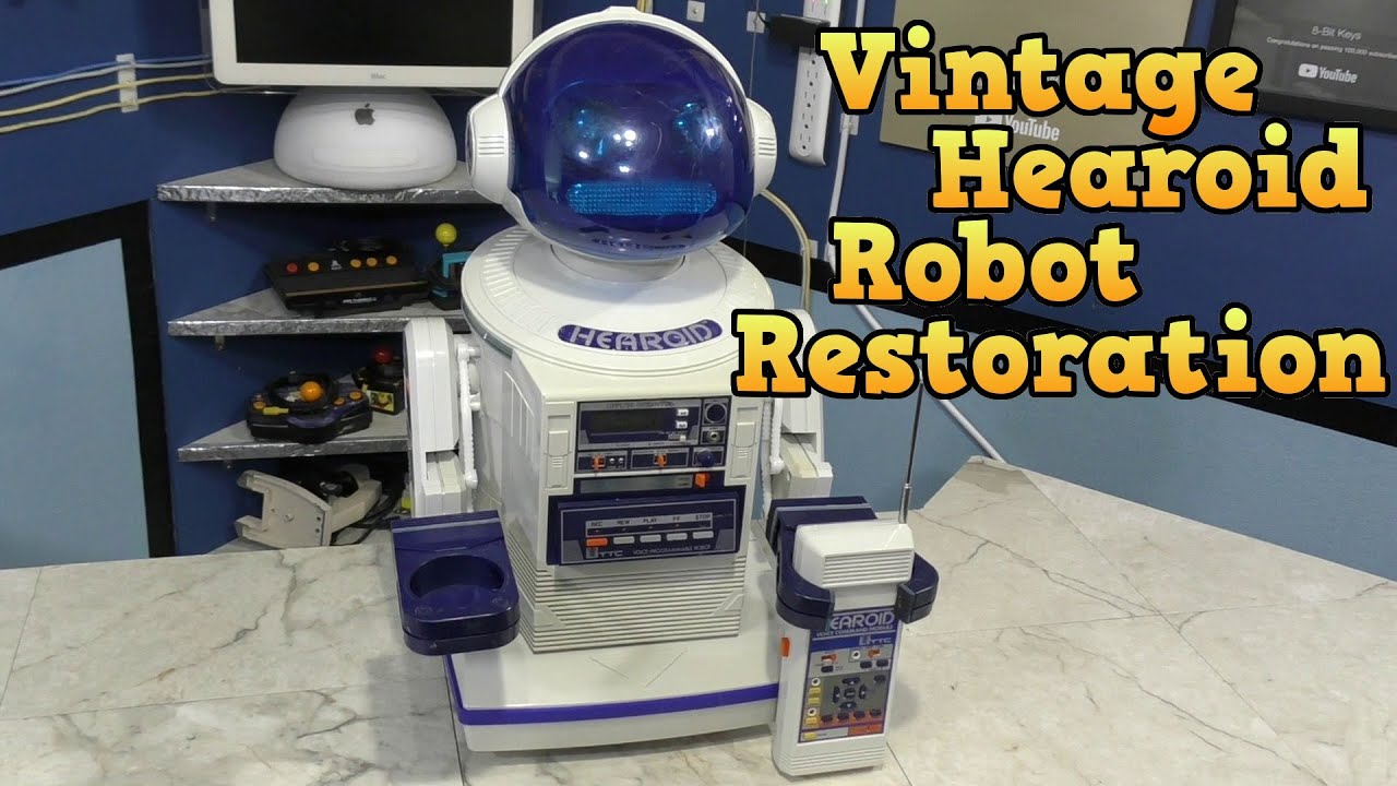Vintage Hearoid Robot Restoration