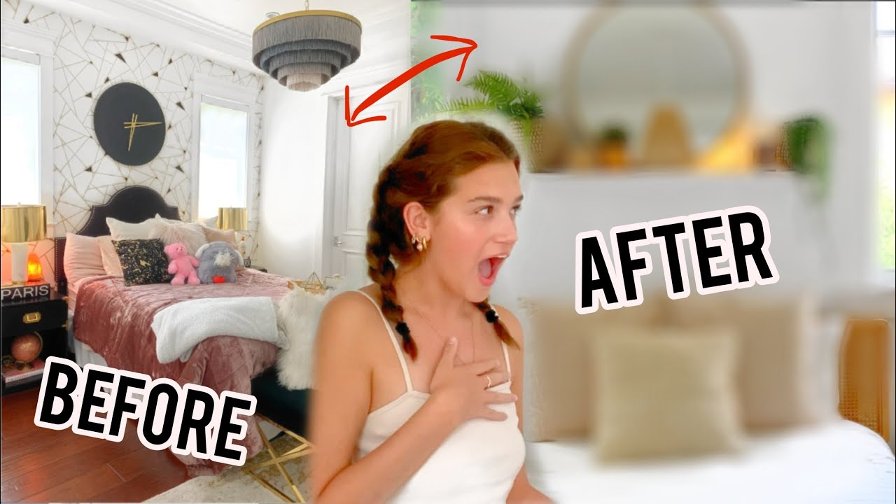 WE SURPRISED ERYN WITH A BOHO ROOM MAKEOVER!