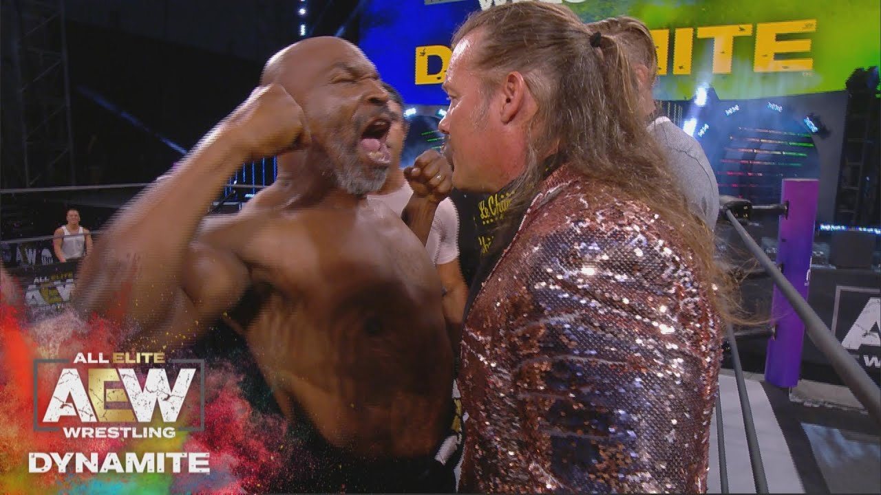 WHAT HAPPENED WHEN MIKE TYSON STEPPED INTO THE AEW RING?     AEW DYNAMITE 5/27/20, JACKSONVILLE, FL