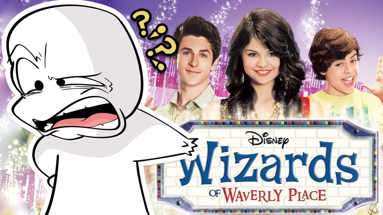 Wizards of Waverly Place was a weird show…