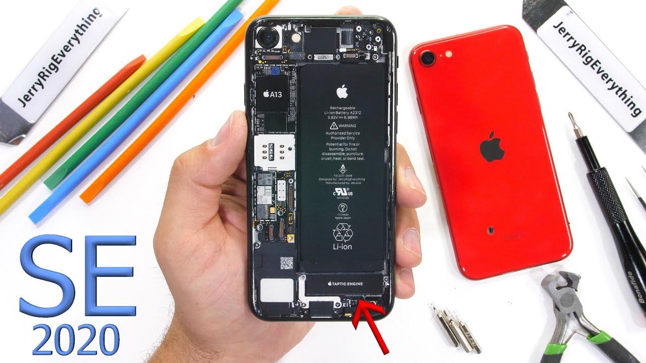 iPhone SE (2020) Teardown! – Lets talk about Vibrators…