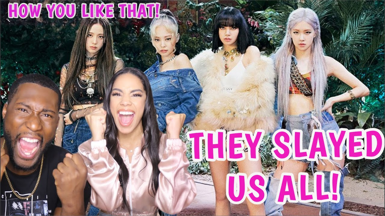 BLACKPINK – 'How You Like That' M/V REACTION ?