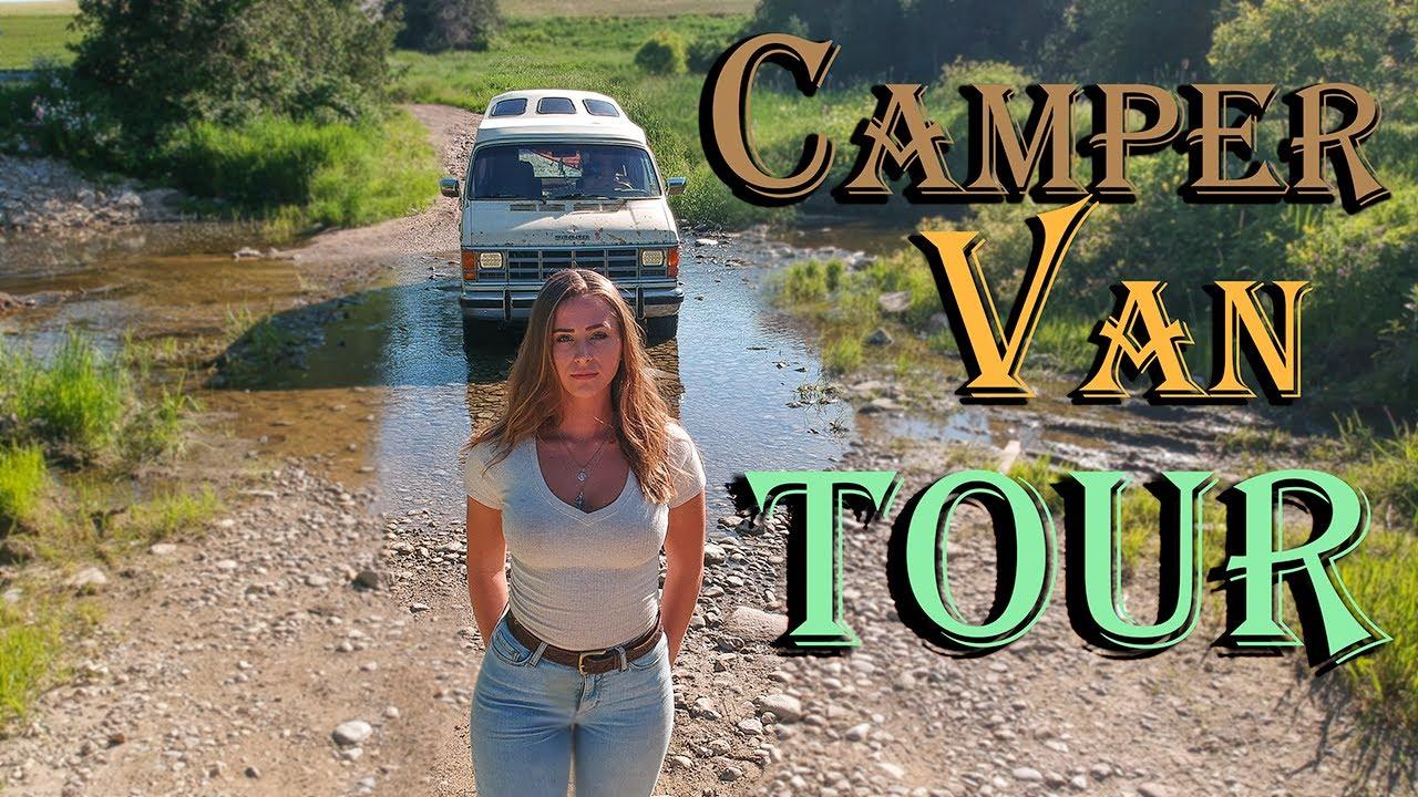80's Vintage CAMPER VAN TOUR – VANLIFE