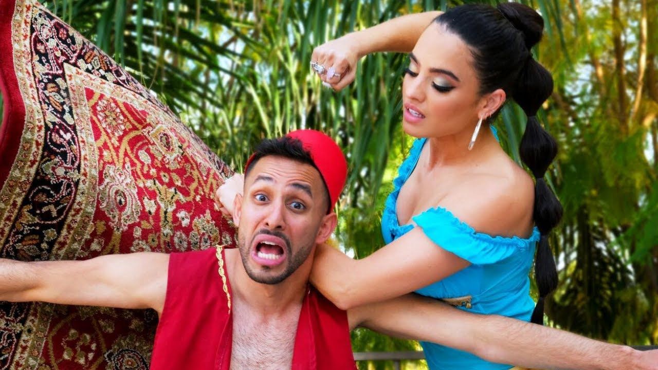 Aladdin & Jasmine Break Up | Anwar Jibawi