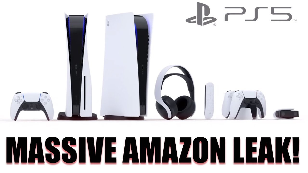 Amazon LEAKED The PRICE And RELEASE DATE Of The PlayStation5