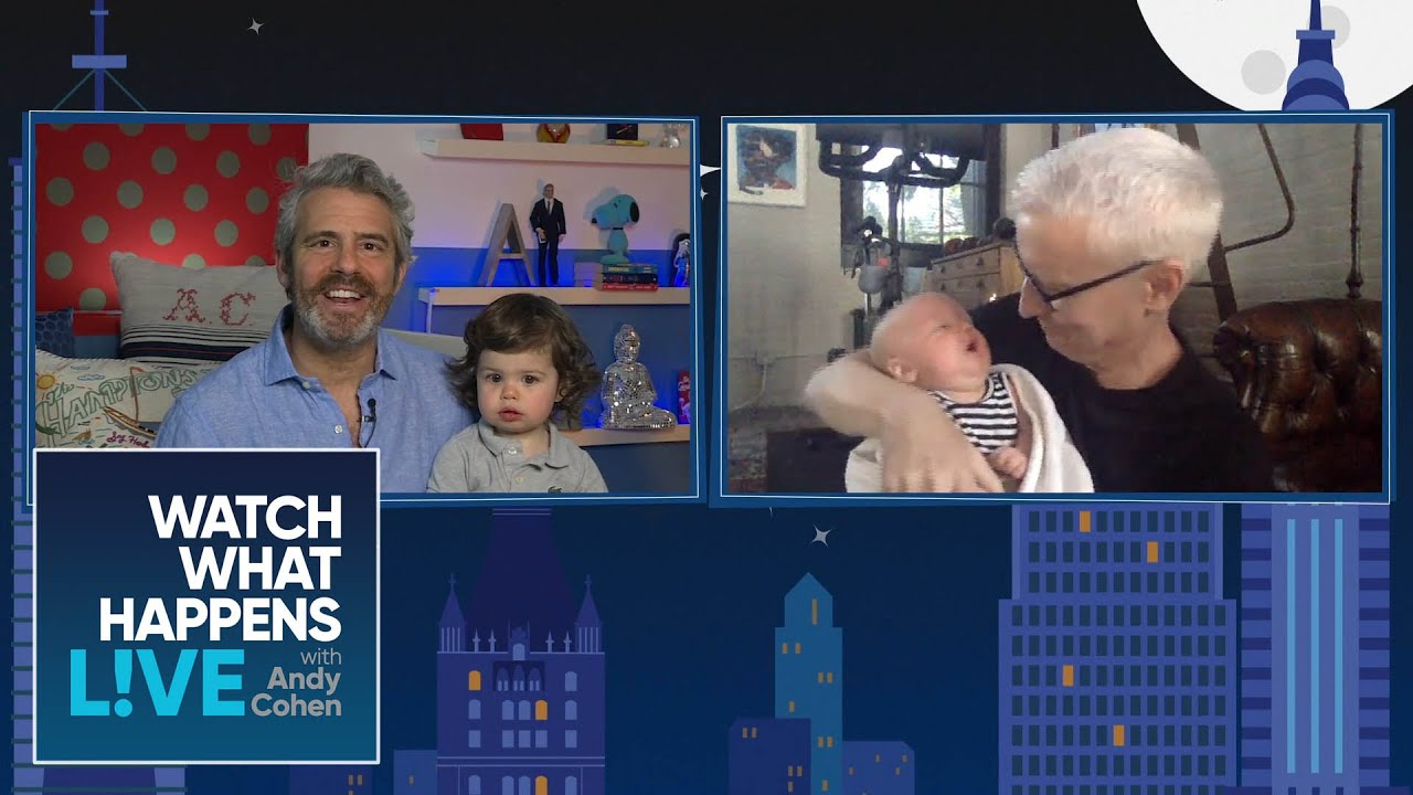 Anderson Cooper & Andy Cohen's Sons' Virtual Meet & Greet | WWHL