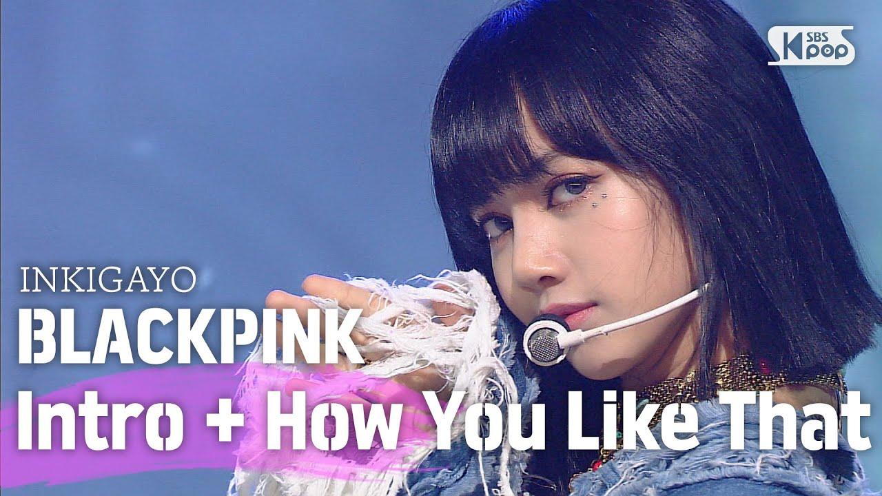BLACKPINK(블랙핑크) – How You Like That @인기가요 inkigayo 20200628