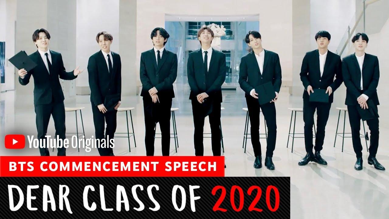 BTS Commencement Speech   Dear Class Of 2020
