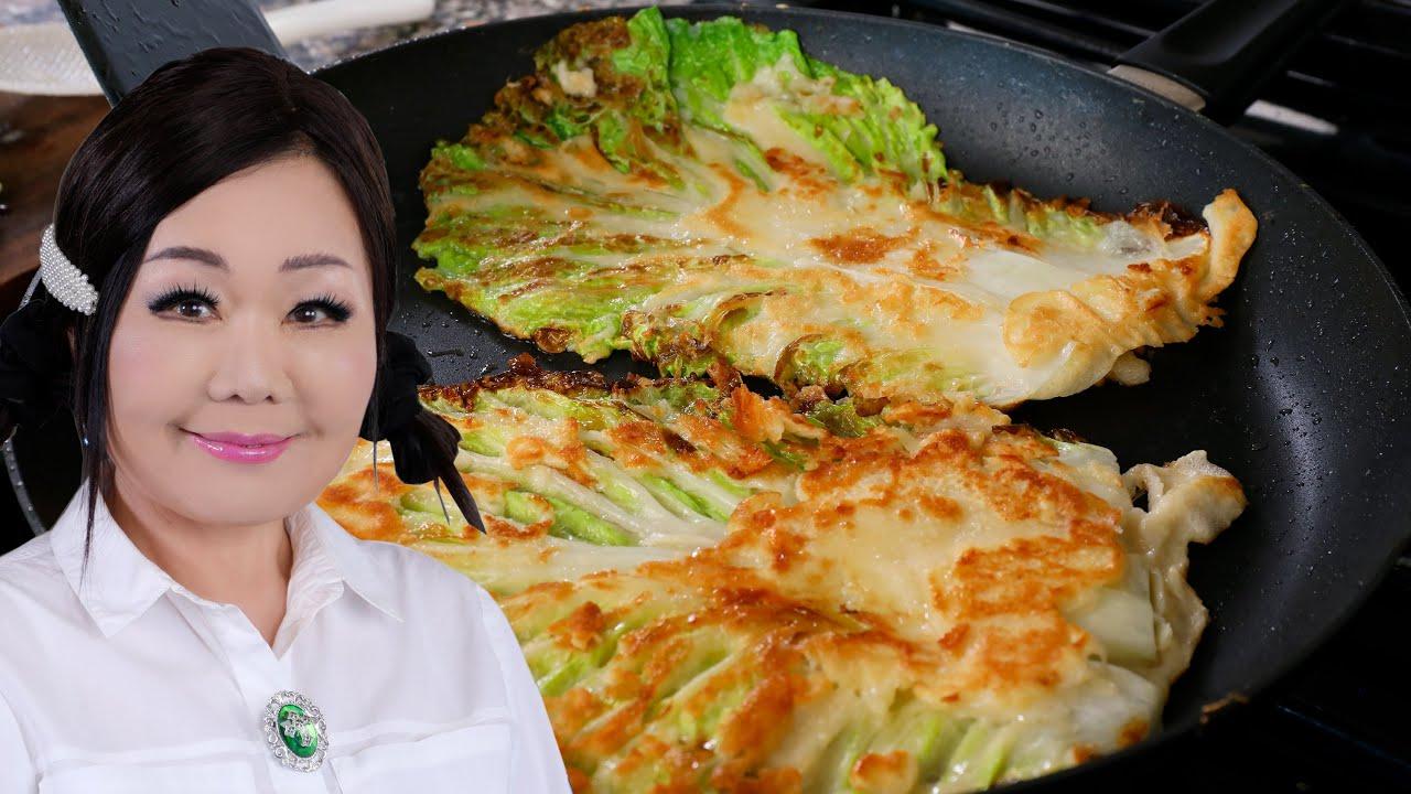 Baechujeon (Cabbage Pancake: 배추전)