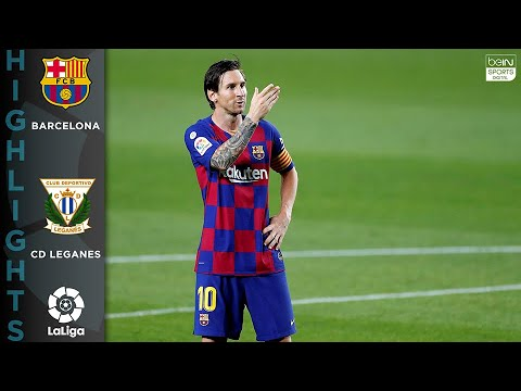 Barcelona 2-0 Leganés – HIGHLIGHTS & GOALS – 6/16/2020