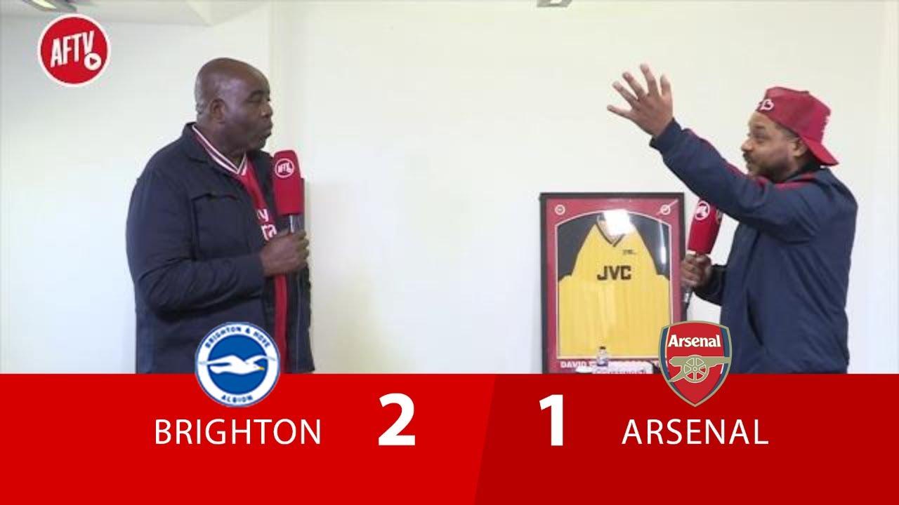 Brighton 2-1 Arsenal | The Season Is In The Bin! (Troopz)