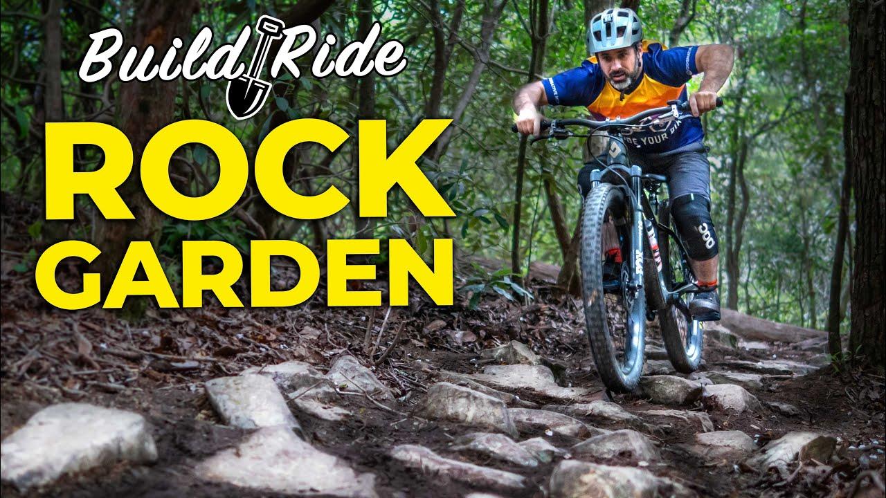 Building & Riding a Gnarly Backyard Rock Garden