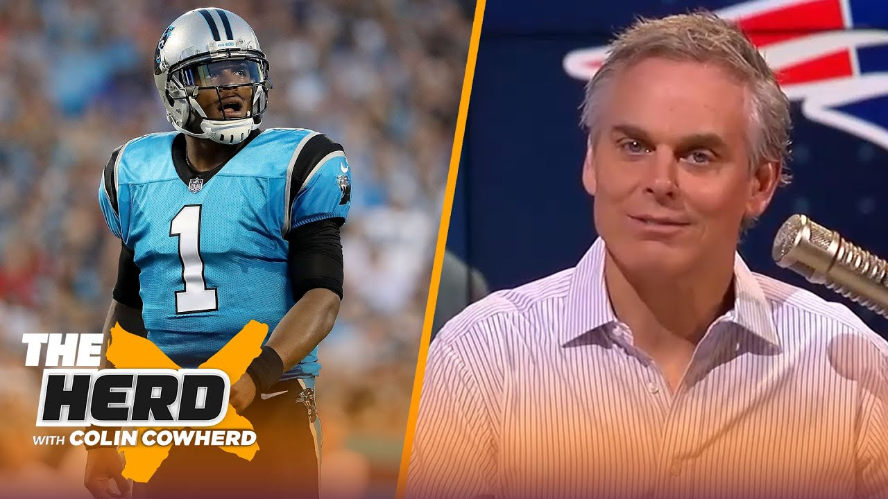 Colin reacts to Patriots signing Cam Newton and gives realistic expectations | NFL | THE HERD