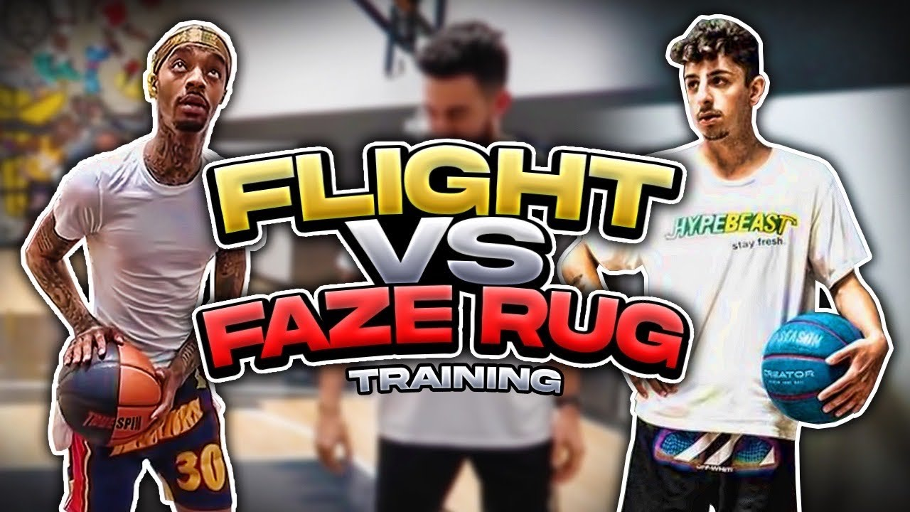 FLIGHT Vs FAZE RUG Insane 1-1! Training Before & Preparing Them!