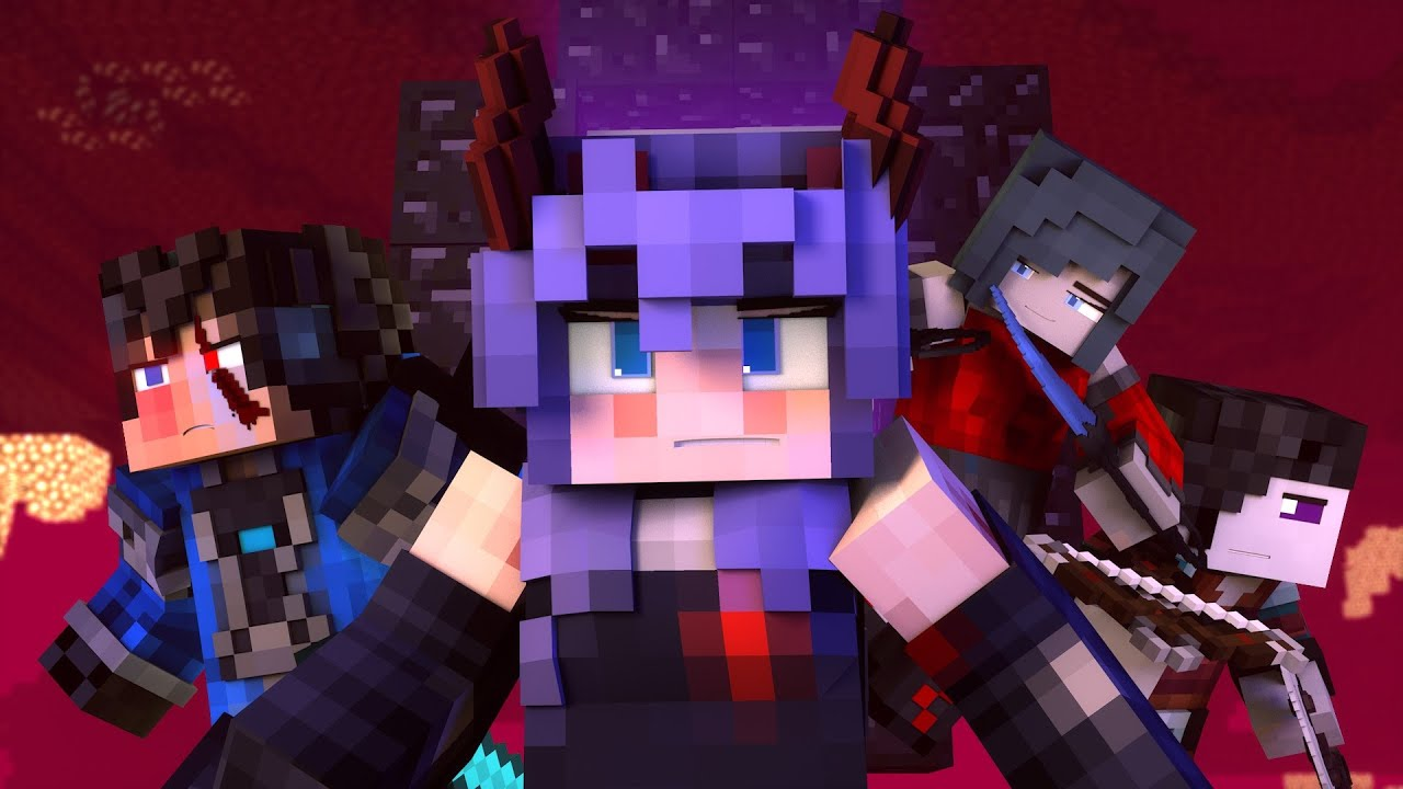 """Falling"" – A Minecraft Music Video ♪"