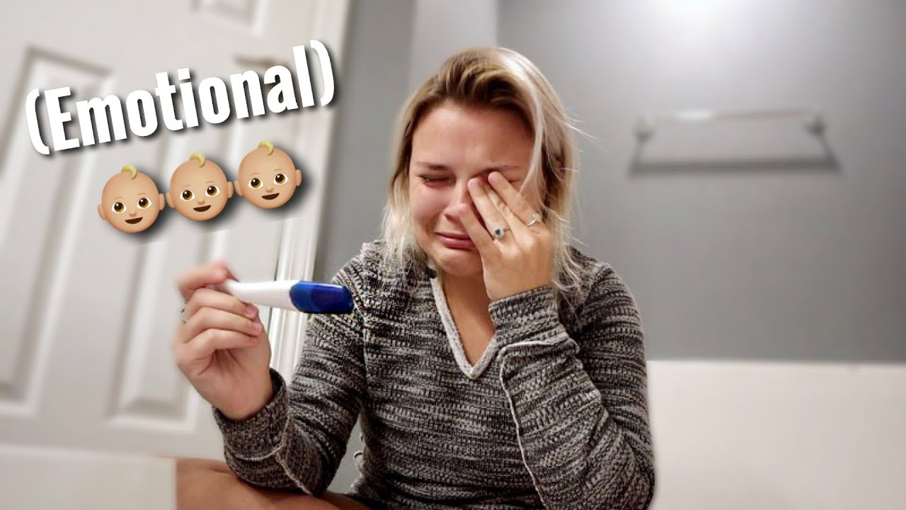 Finding Out Im Pregnant AGAIN (Live Pregnancy Test)