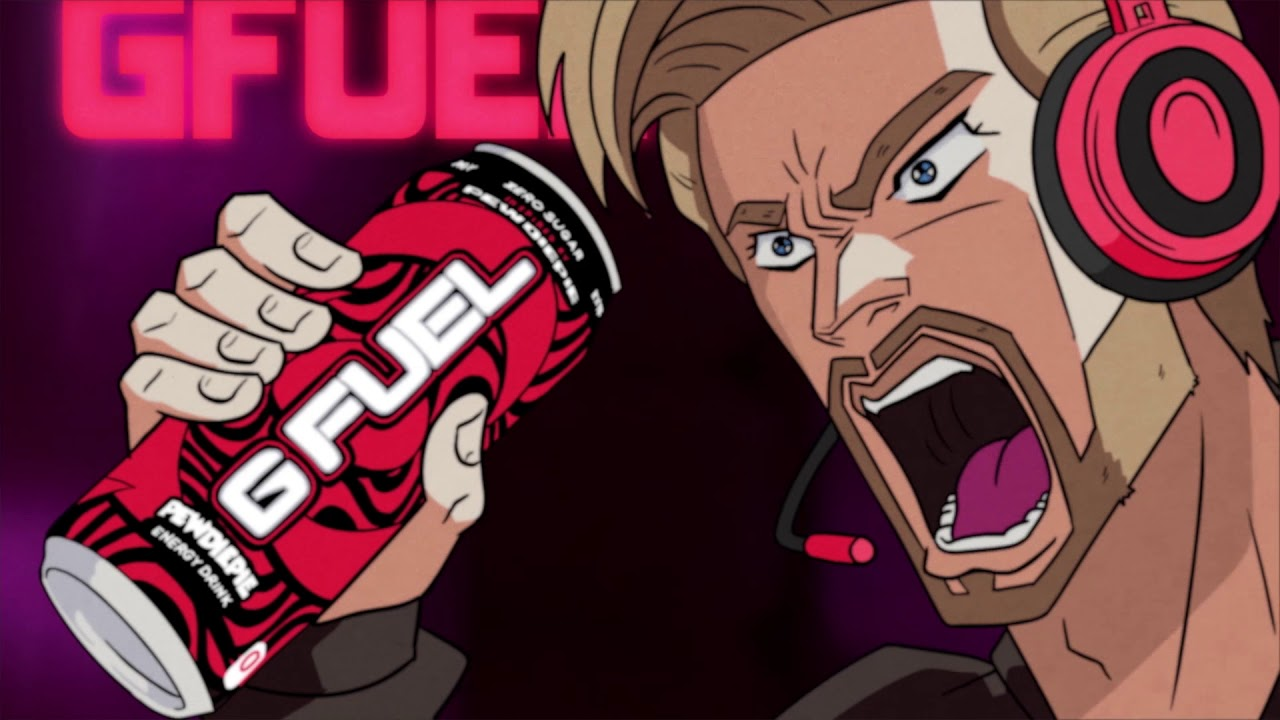 G FUEL PEWDIEPIE | Ready-To-Drink Can!