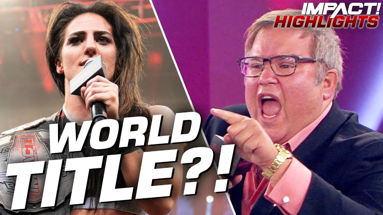 HUGE Announcement on Tessa Blanchard's IMPACT World Championship!| IMPACT! Highlights June 9 , 2020