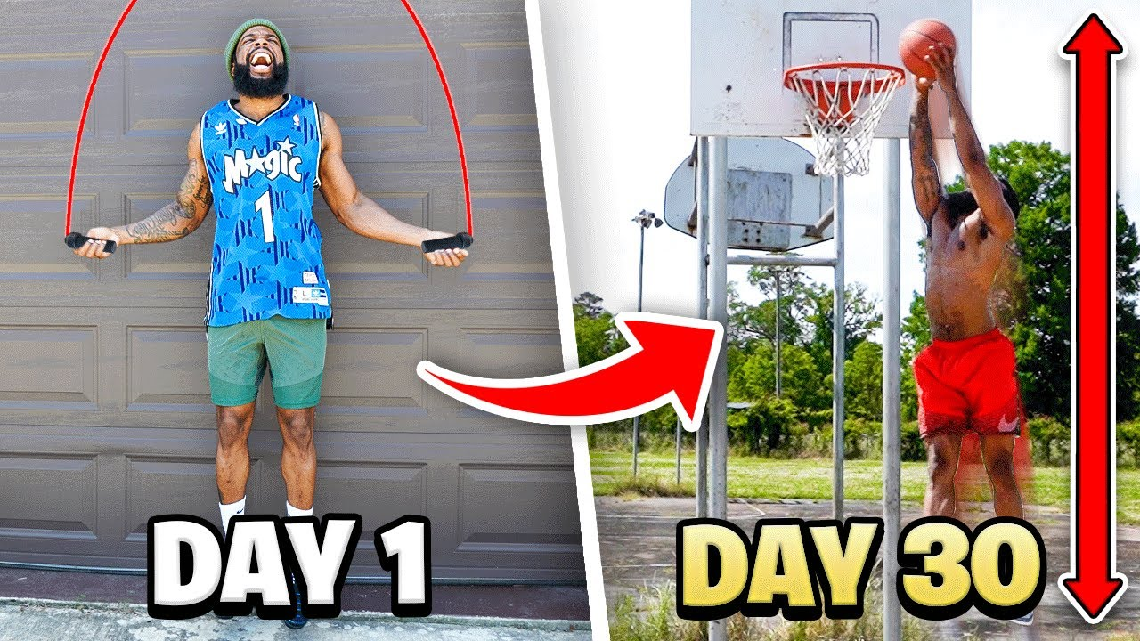 I Did THIS For 30 Days…Now I Can Dunk A Basketball At 5'10!