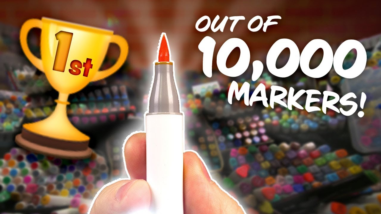 I Found the WORLD'S BEST MARKER – I Tried them ALL…