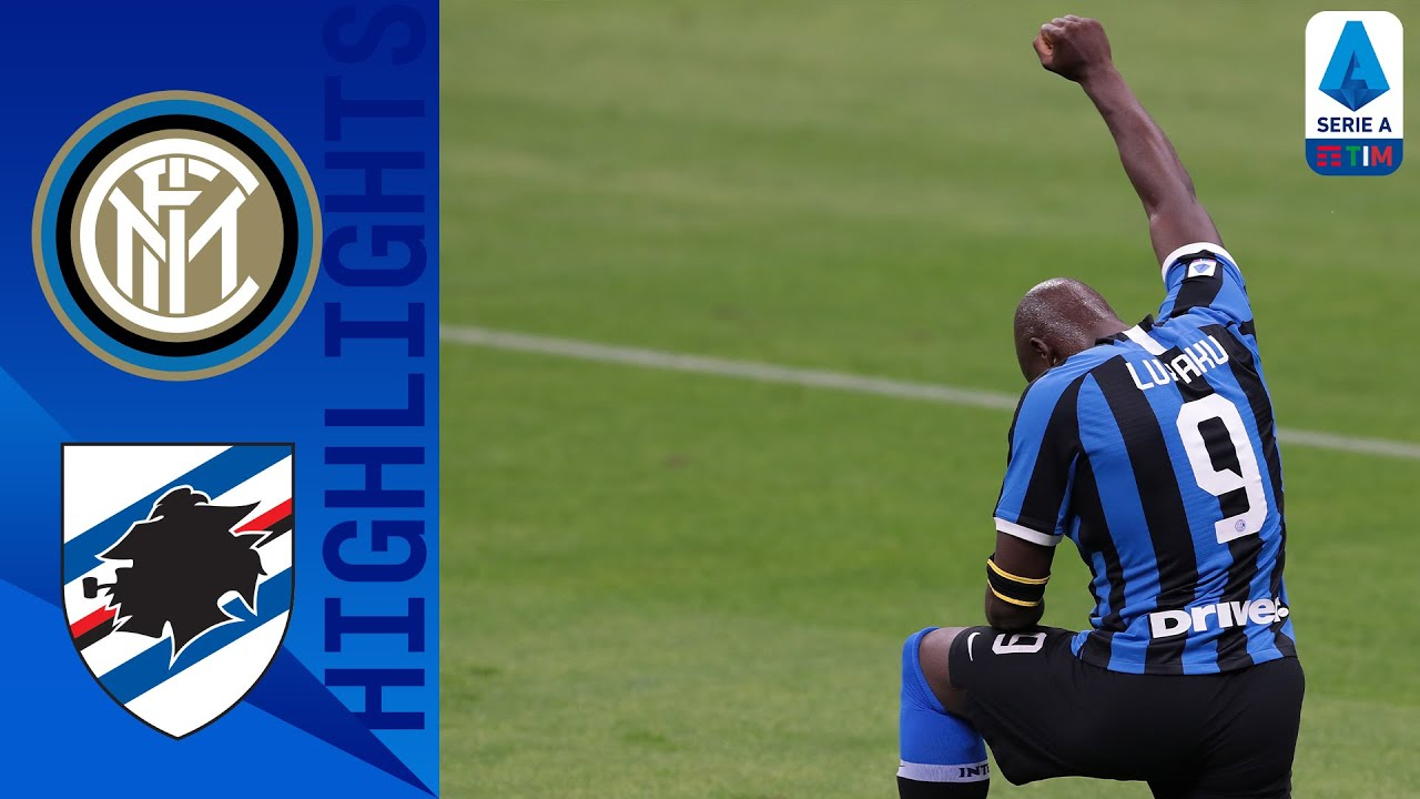 Inter 2-1 Sampdoria | Lukaku and Martinez Find the Back of the Net for Inter! | Serie A TIM