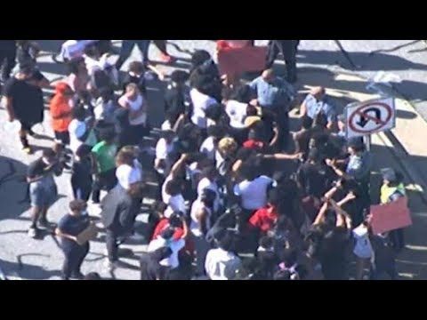 LIVE VIEW   Protests in metro Atlanta continue on Saturday afternoon