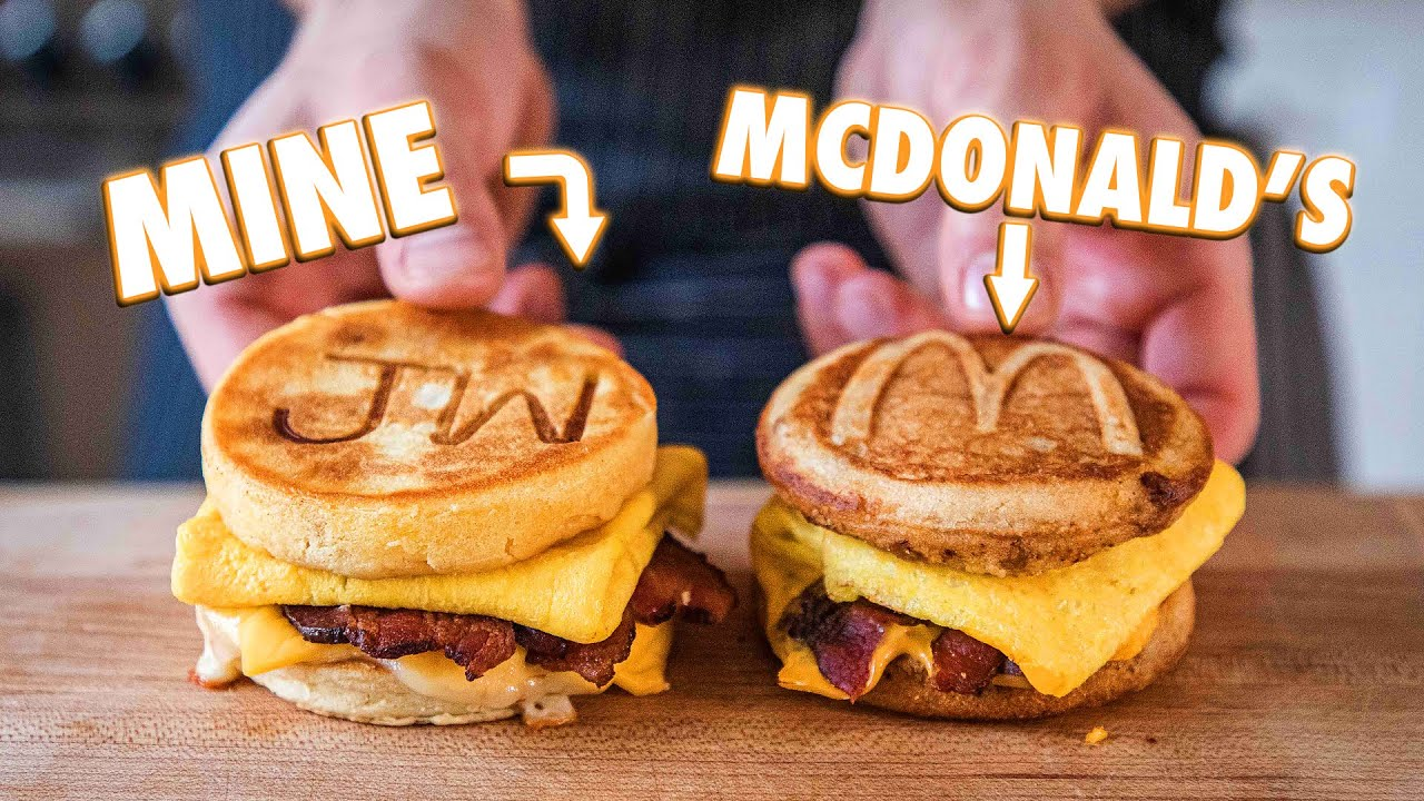 Making The McDonald's McGriddle At Home | But Better