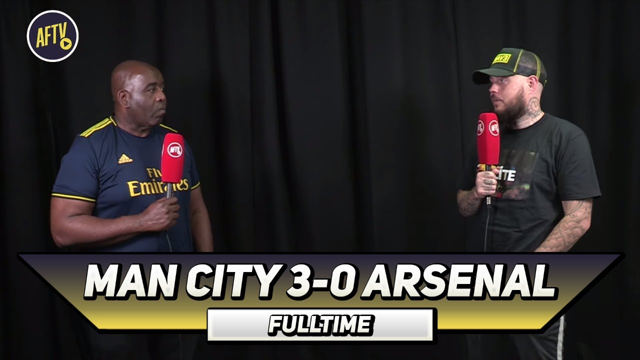 Man City 3 – 0 Arsenal | We Might As Well Go Back Into Lockdown Says DT
