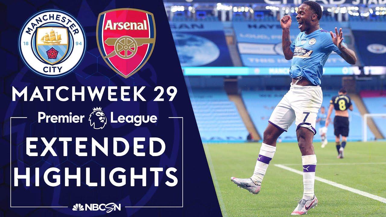 Manchester City v. Arsenal | PREMIER LEAGUE HIGHLIGHTS | 6/17/2020 | NBC Sports