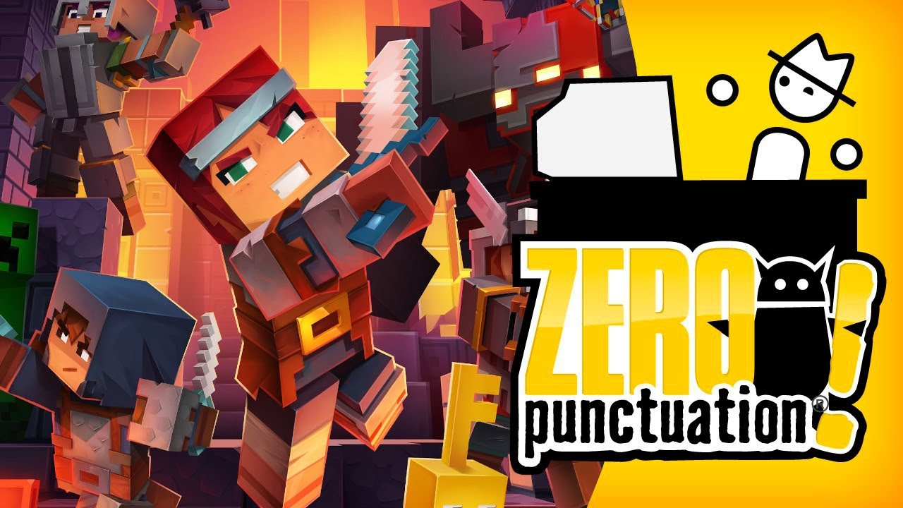 Minecraft Dungeons (Zero Punctuation)