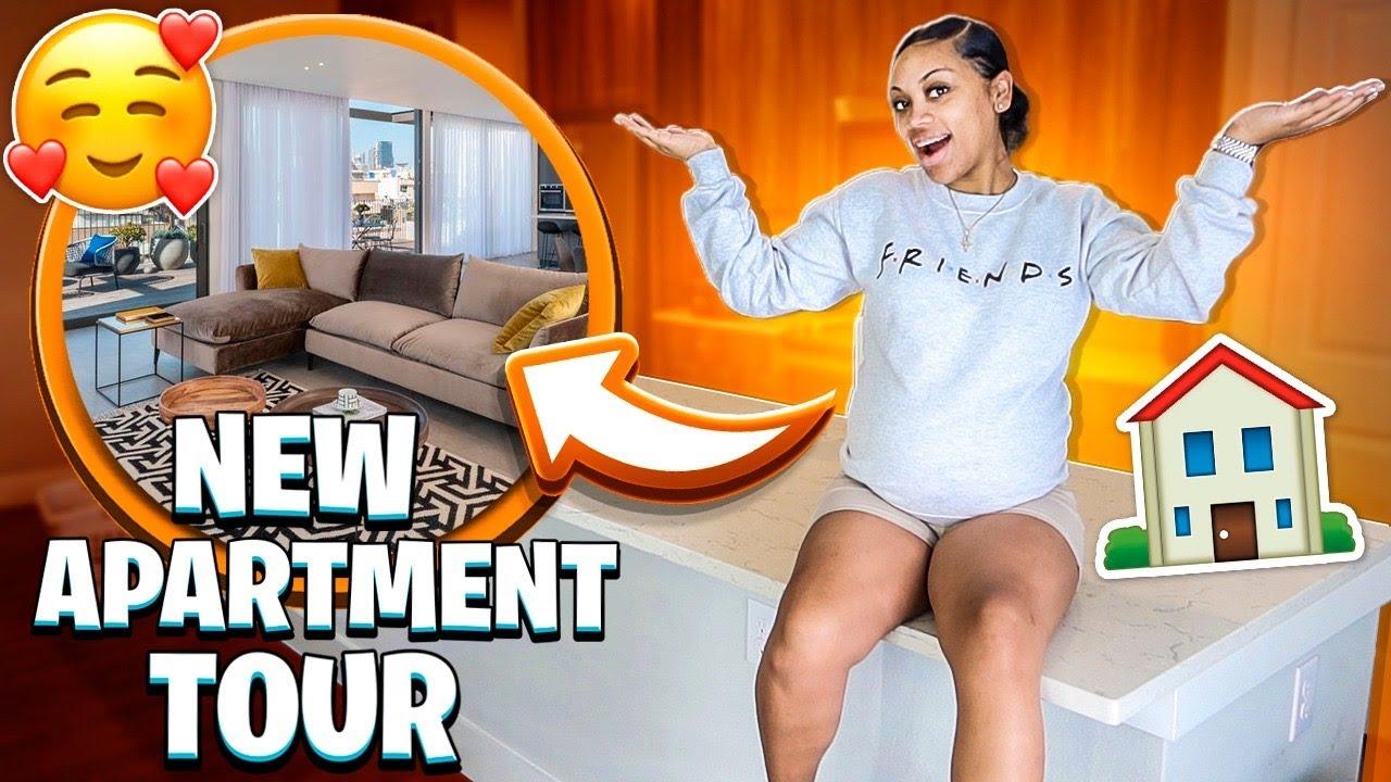 NEW APARTMENT TOUR?
