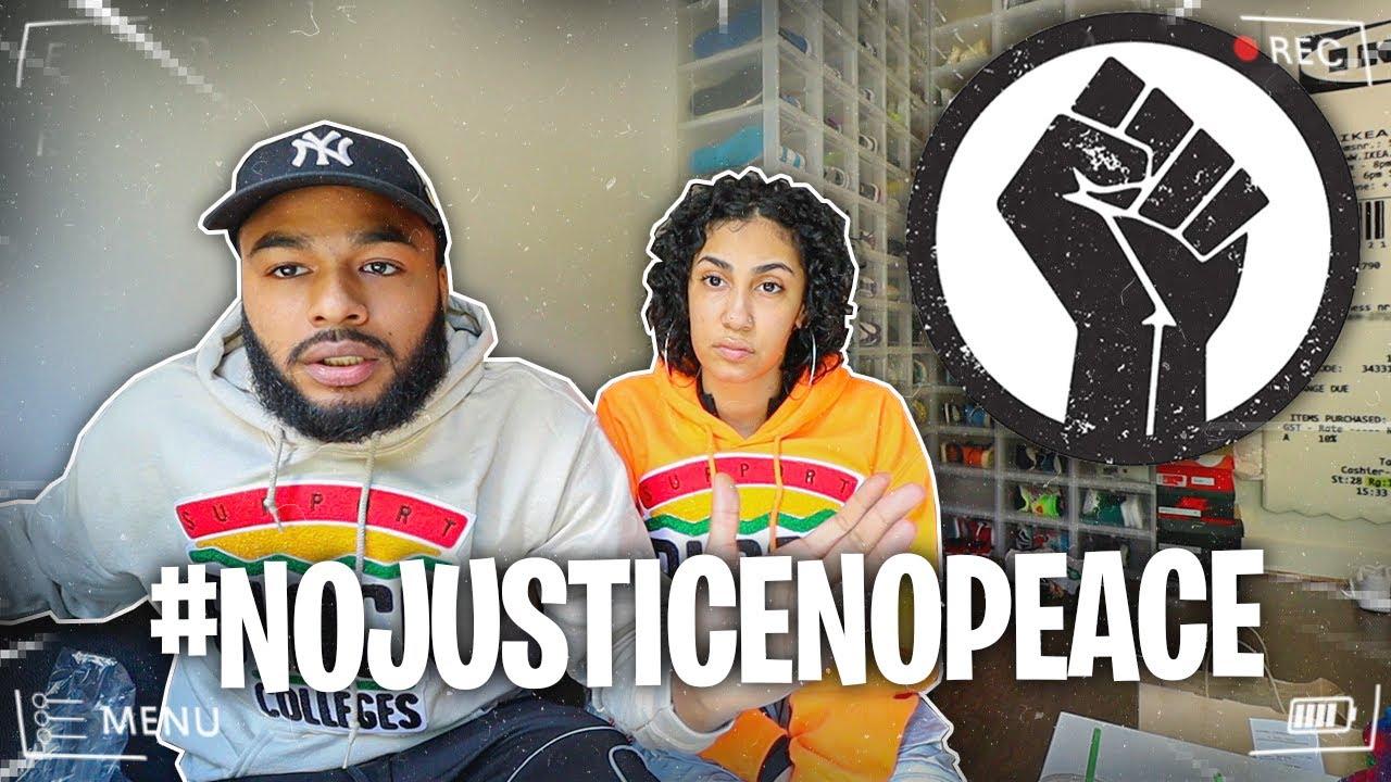 NO JUSTICE. NO PEACE ✊?