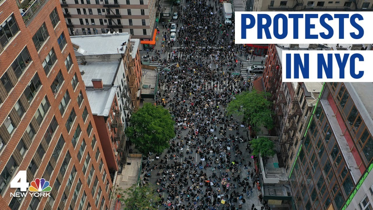 NYC Protests Continue After Citywide Curfew Begins   NBC New York