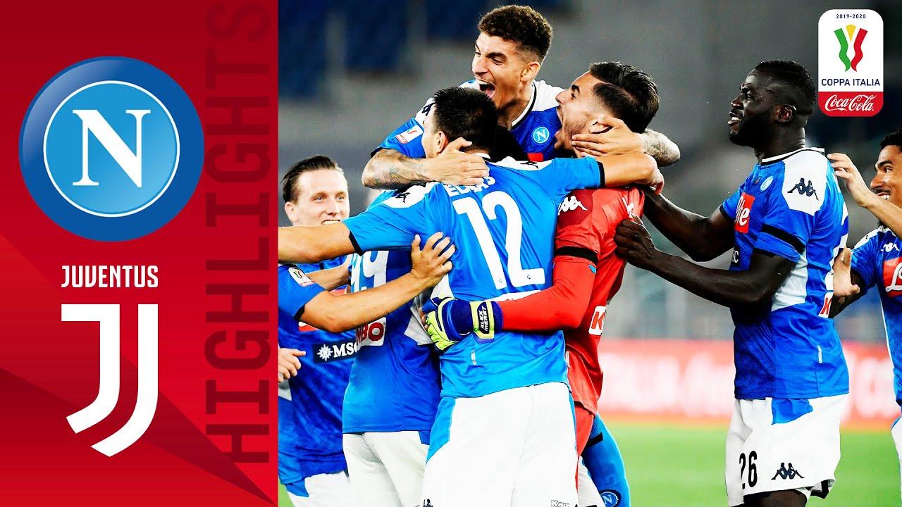Napoli 0-0 (4-2) Juventus | Napoli Win the Coppa on Penalties! | Final | Coppa Italia Coca-Cola