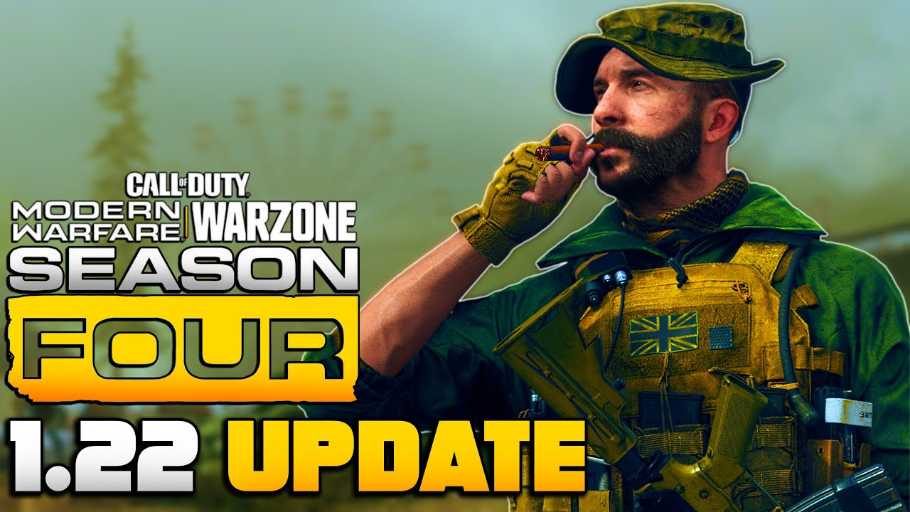New Season 4 | 1.22 Update – New Maps, Modes, Weapons & More | MW Multiplayer/WARZONE | JGOD