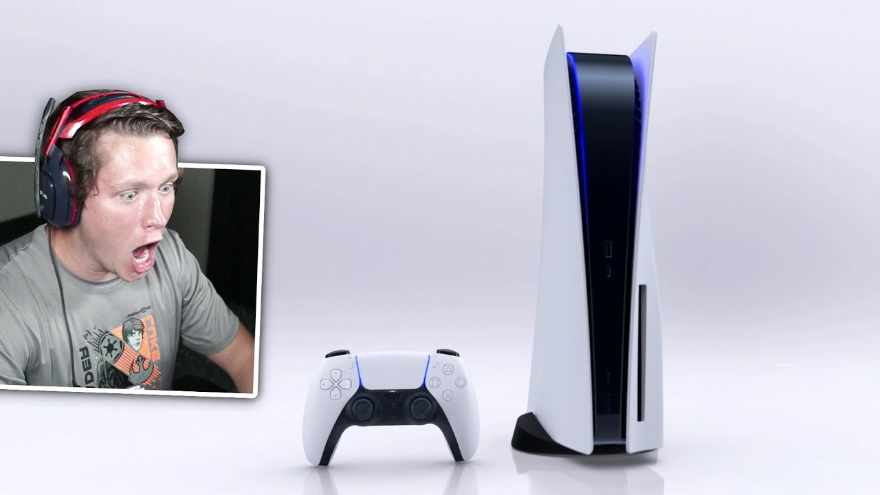 OFFICIAL PLAYSTATION 5 CONSOLE DESIGN REVEAL (Reaction)