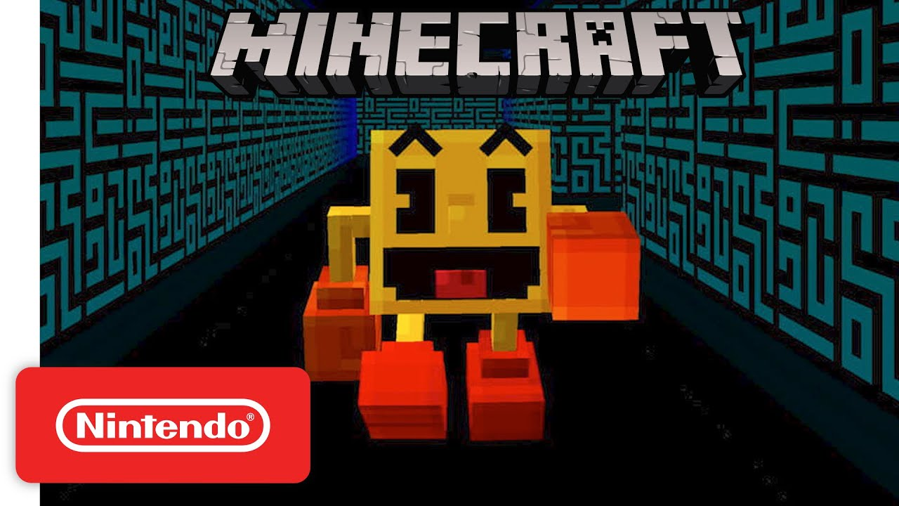 PAC-MAN Comes to Minecraft! – Nintendo Switch