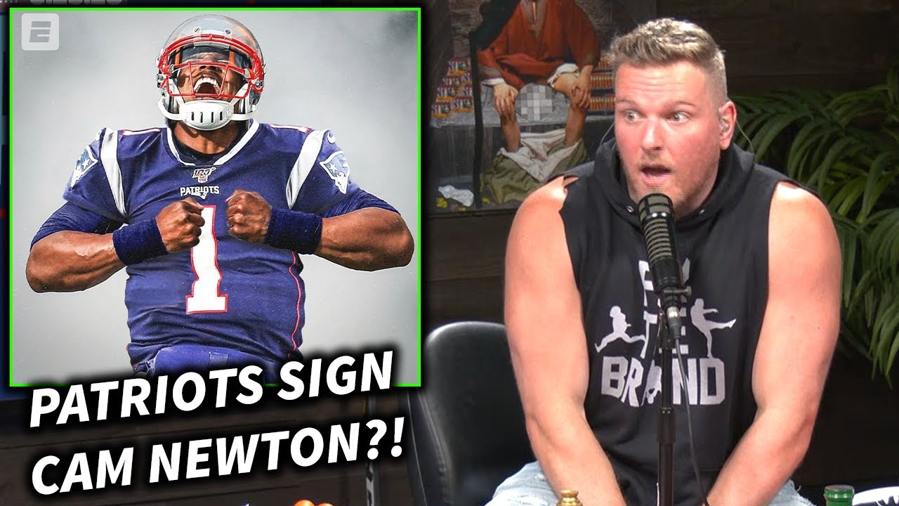 Pat McAfee Reacts To Cam Newton Signing With The Patriots