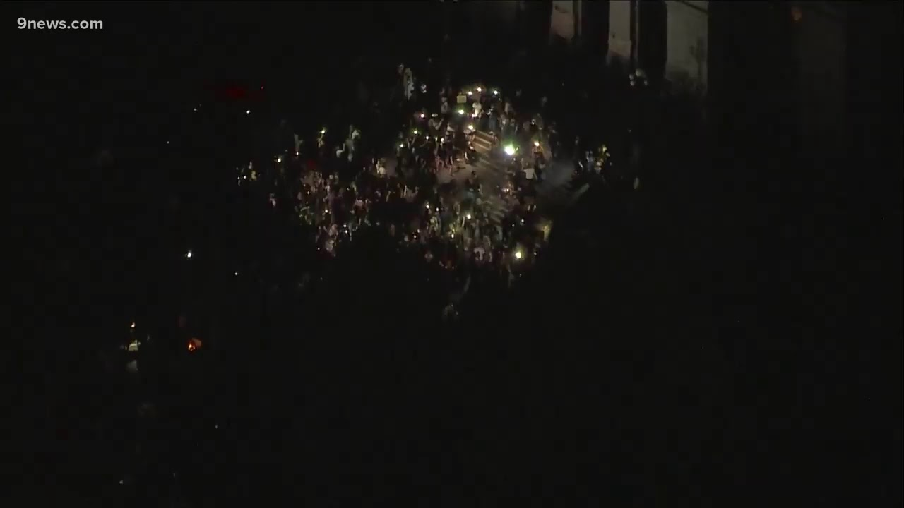 RAW: Protests in Denver continue into their 6th night