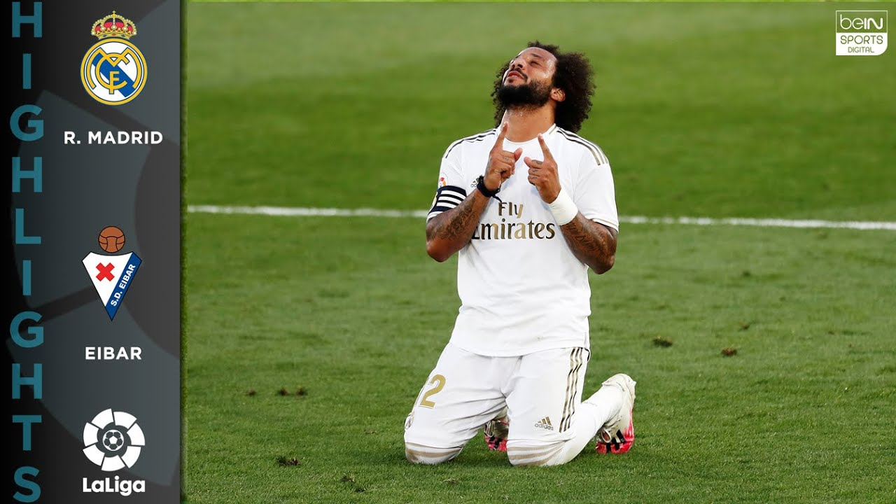 Real Madrid 3-1 Eibar – HIGHLIGHTS & GOALS – 06/14/20