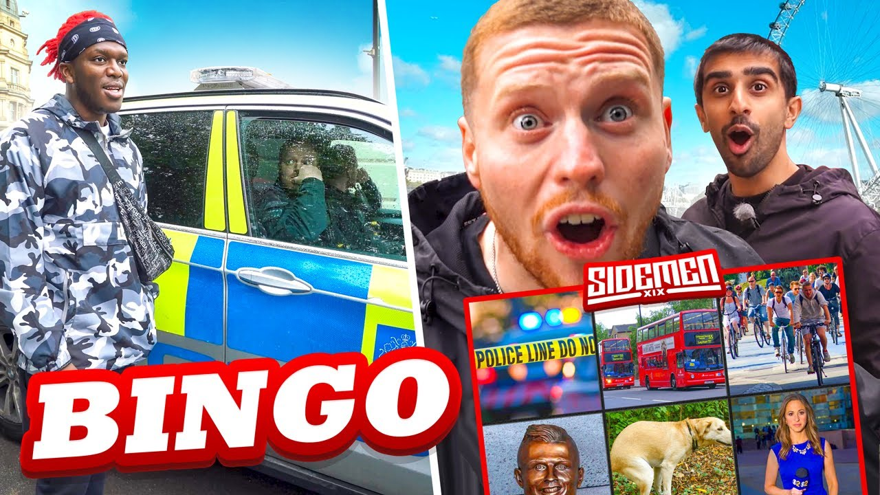 SIDEMEN $20,000 REAL LIFE BINGO IN LOCKDOWN